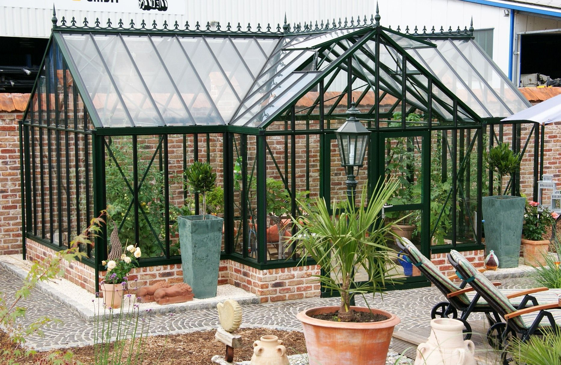 Gewächshaus Viktorianischer Stil englisches gewächshaus selfkant wolters viktorianischer stil