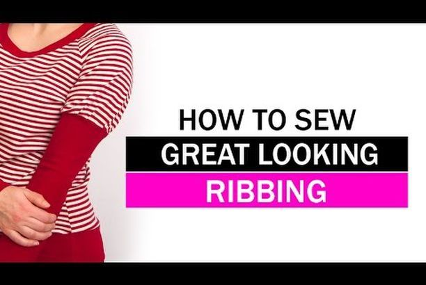 Video: My top tips for sewing neckline ribbing