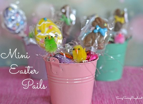 Diy mini easter basket pails perfect for classmate teacher diy mini easter basket pails perfect for classmate teacher easter gifts easter negle Choice Image