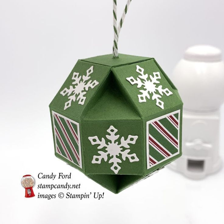 Dashing Along Snowflake Showcase Faceted Ornament