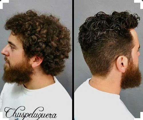 20 Trendy Hairstyles For Boys: 20 Short Curly Hairstyles For Men