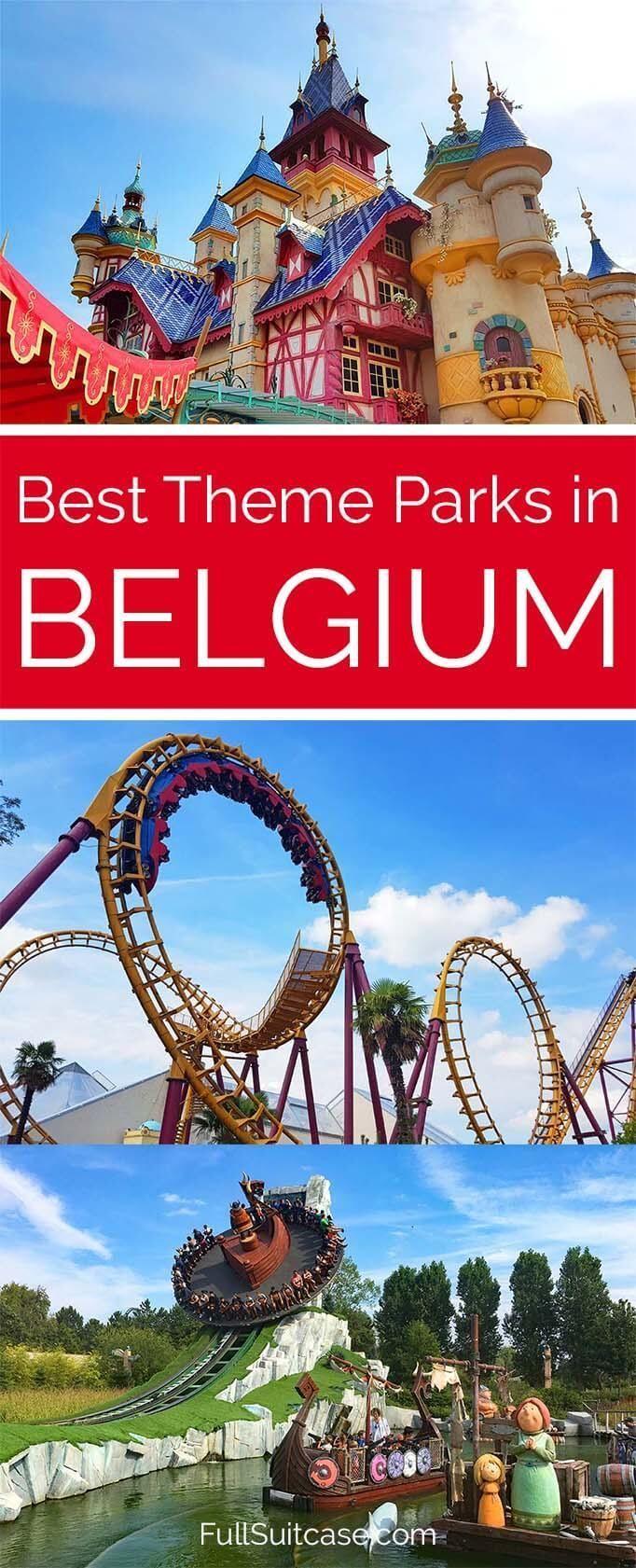 8 Best Theme Parks In Belgium Review And Tips Belgium Travel Best Amusement Parks Theme Park