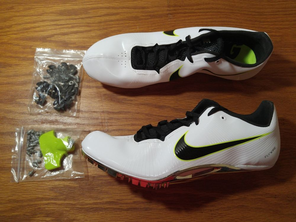 NEW Nike Zoom Ja Fly Flywire Track Running Spikes Men's 12.5