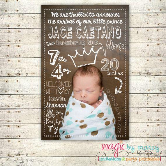 cute birth announcements - Funfpandroid