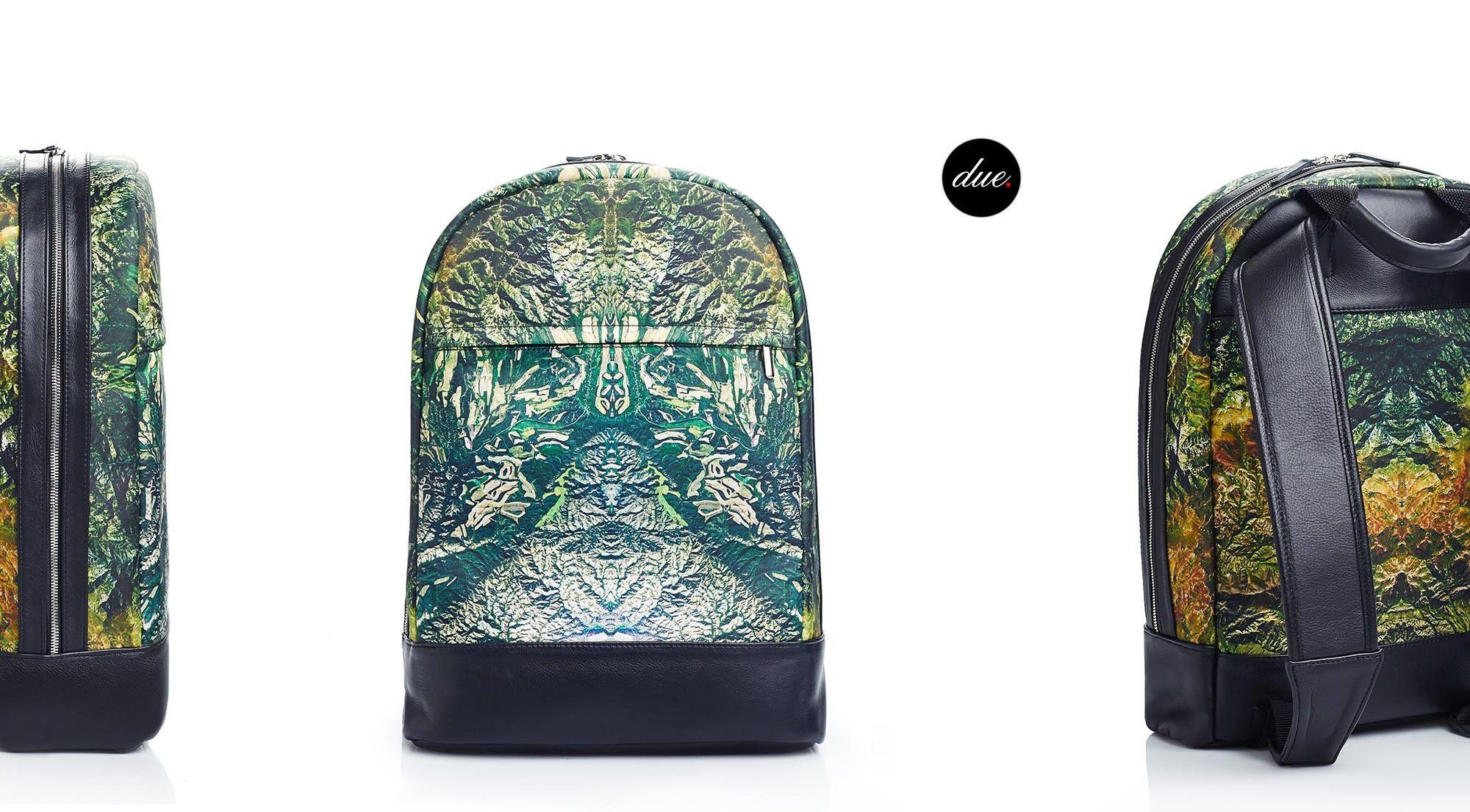 #duofashion #duo #rucksack #naturepatterns