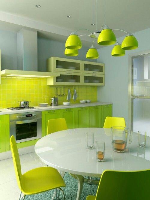 Lime Green Kitchen Green Kitchen Designs Kitchen Design Color Green Kitchen Inspiration