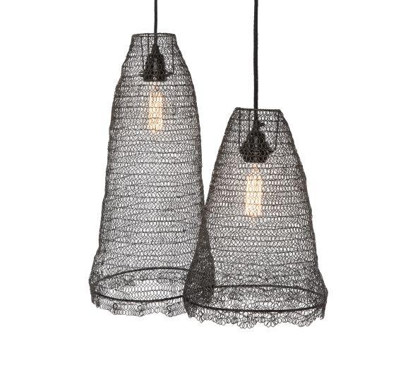 treccia lighting suspension luminaire fil de fer et. Black Bedroom Furniture Sets. Home Design Ideas