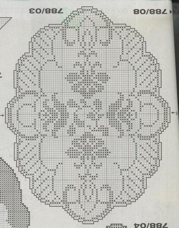 Burda Filet Au Crochet Zosia Picasa Web Albümleri Tablecloth