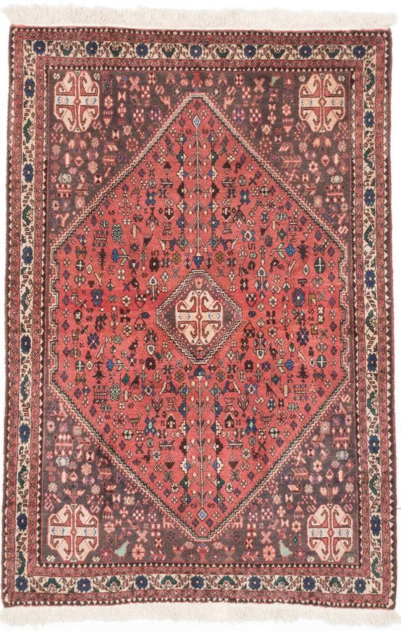 3 5 X 5 1 Vintage Persian Pink Abadeh By Kordestanicollection Rugs Geometric Area Rug Shiraz Rugs