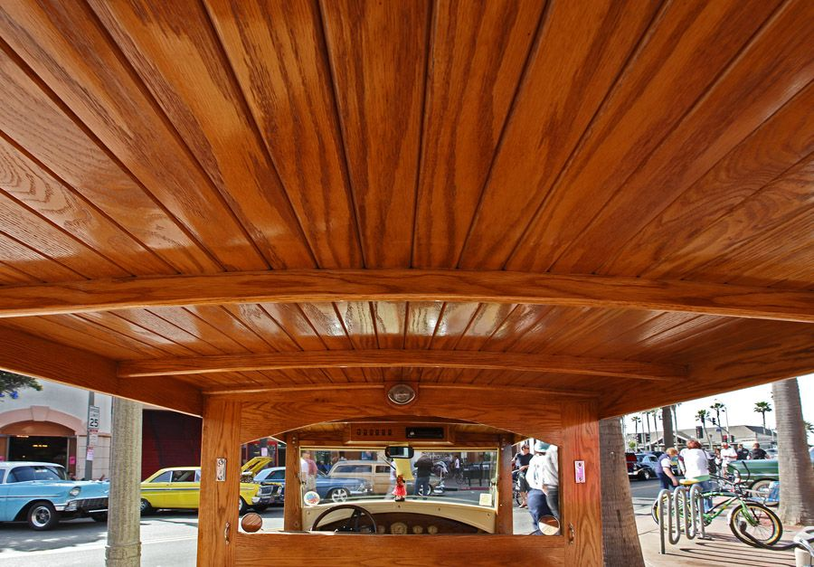 Ford Woodie Wagon Ford 1930s Woody Roof Interior Woody Wagon Metal Roof Woodies