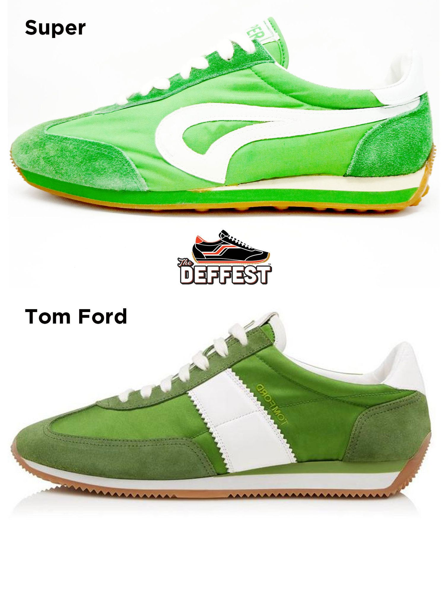 Super Brand Vintage Sneaker Vs Tom Ford Orford Runner Compared The Deffest Vintage Sneakers Retro Sneakers Sneakers