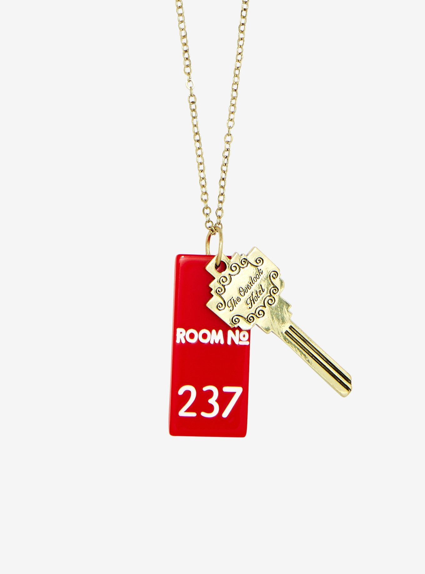 The Shining Overlook Hotel Key Necklace Key Necklace Hand