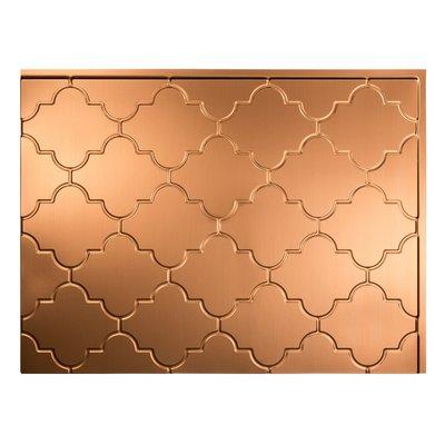 Fasade Monaco 1 5 Ft X 2 Ft Pvc Backsplash Panel In Polished