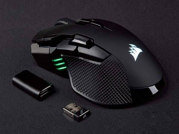 a1c7690d82e Corsair Ironclaw RGB Wireless Gaming Mouse | luh | Games, Computer ...