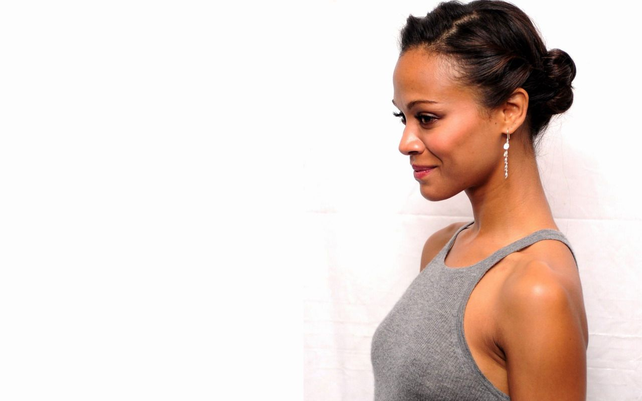 Zoe - zoe-saldana Wallpaper | Hair & Makeup | Pinterest | Zoe ...