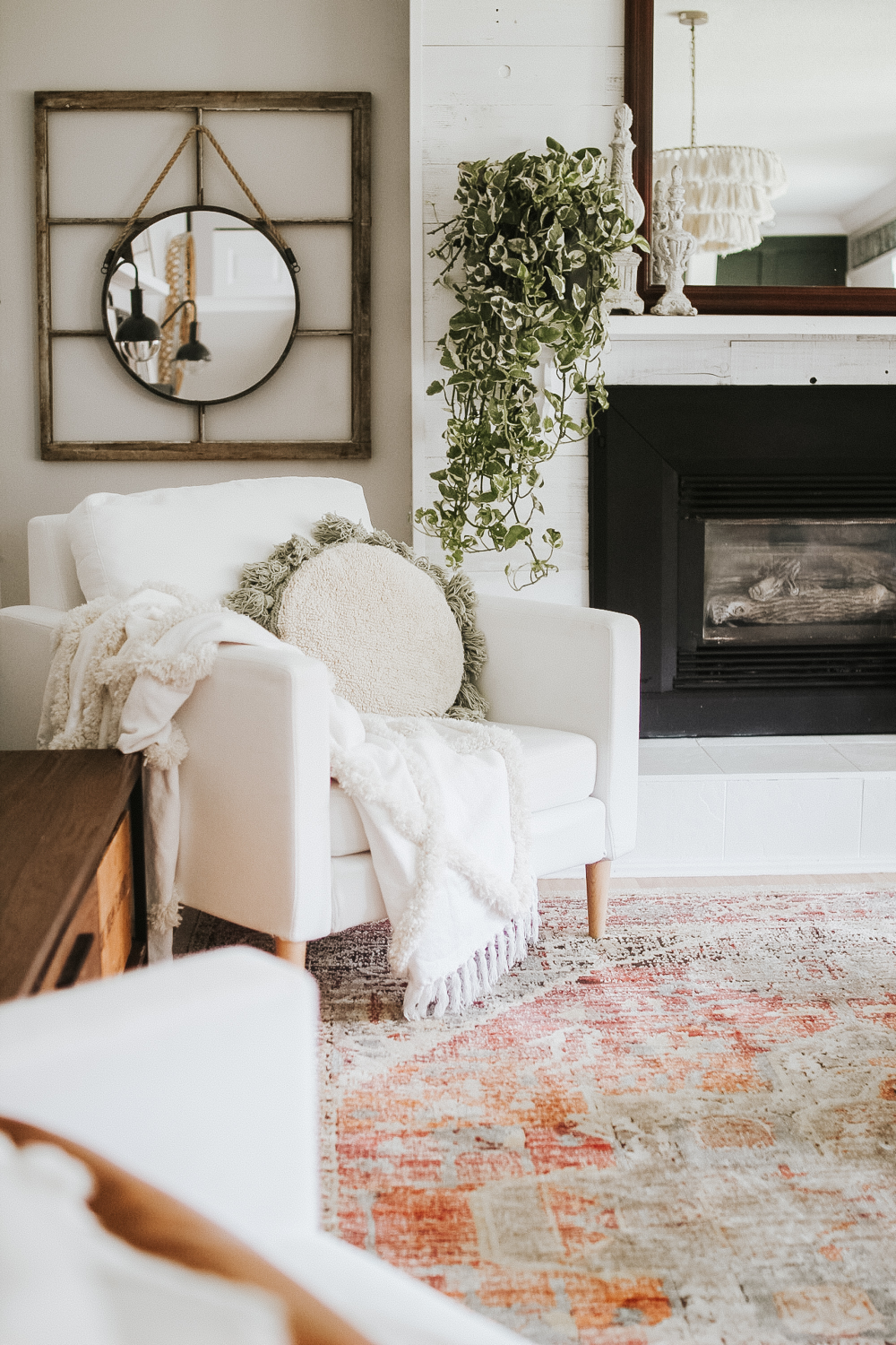 modern bohemian farmhouse living room before after on beautiful modern black white living room inspired id=38640