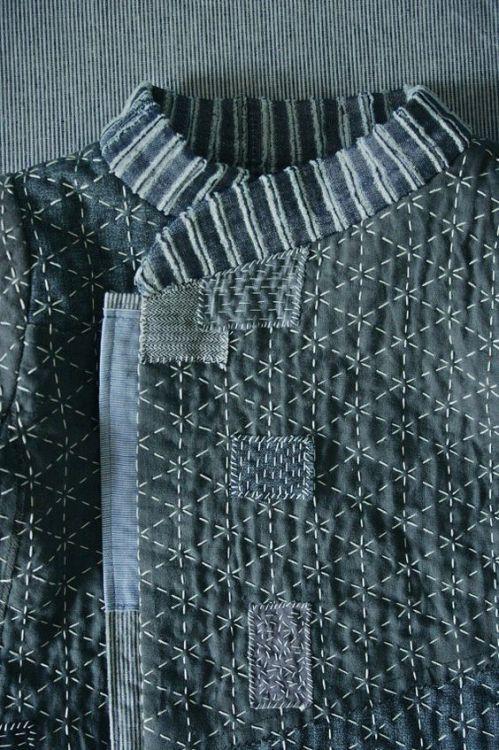 Univers Mininga Sashiko, Japanese embroidery, Sashiko