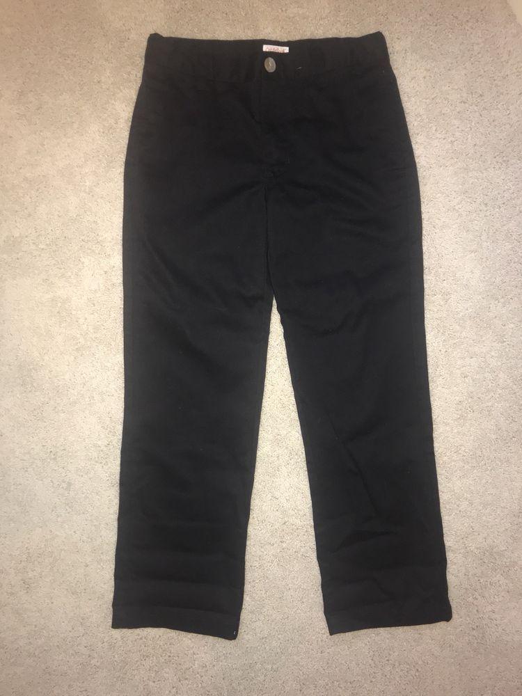 NWOT Boys Cat /& Jack Navy Blue School Uniform Pant Slacks