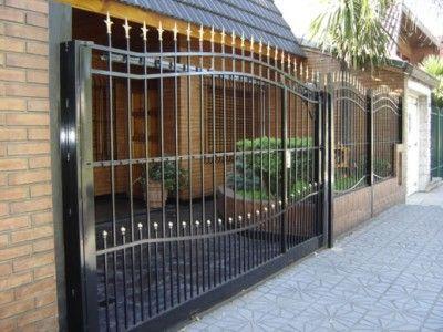Rejas para casas modernas mas lindas bananas pinterest fences gates and iron gates - Rejas de casas modernas ...
