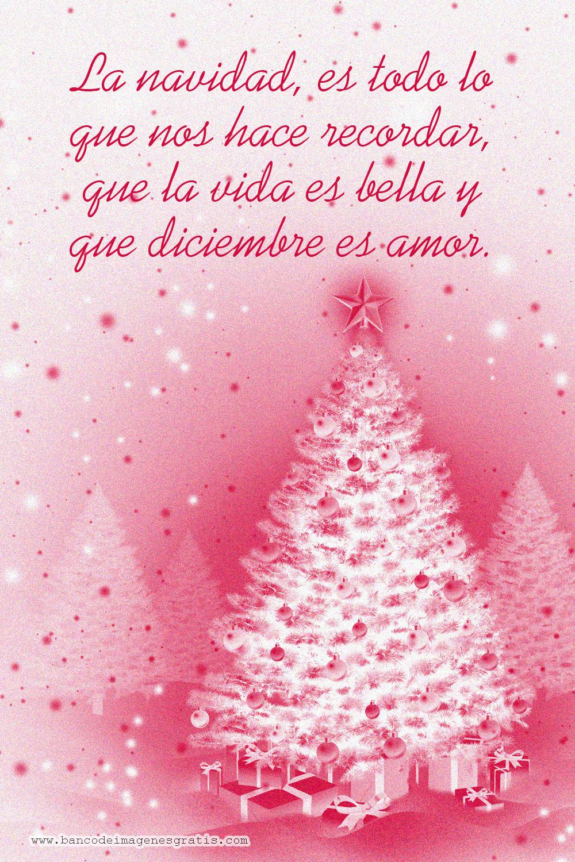Mensajes Para Las Navidad Frases De Navidad Tarjeta De