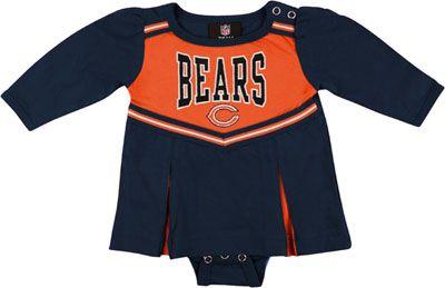 f7071272 Chicago Bears Infant Cheerleader Creeper Dress | chicago B a b y ...