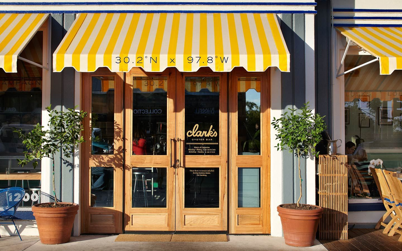 FÖDA Studio, Austin. Design and Brand Development.: Clark's Oyster Bar