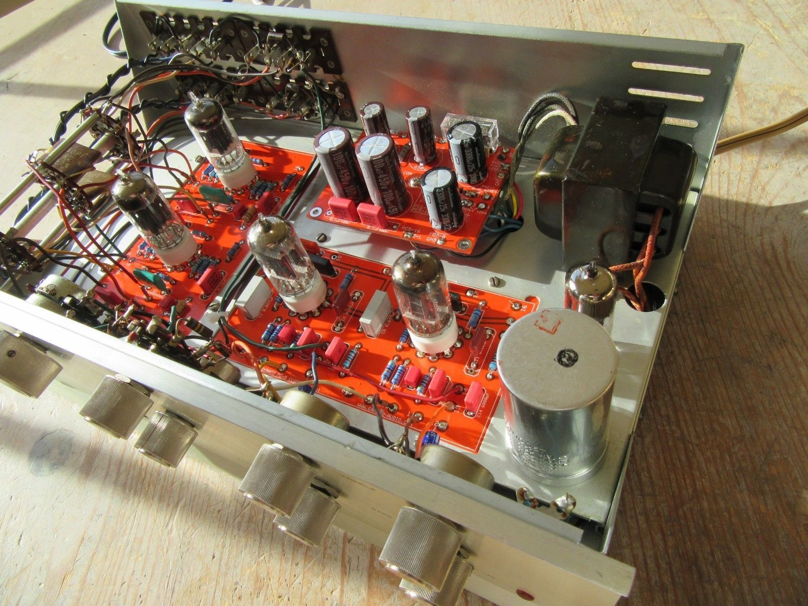 Restored Dynaco PAS 3 Tube Preamp, Erhard Boards, Power