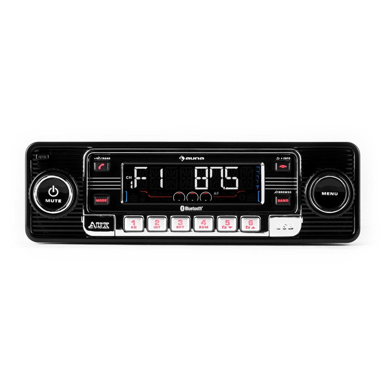Autoradio MIT MP3 Bluetooth Freisprecheinrichtung 2 USB AUX SD FM Single 1 DIN