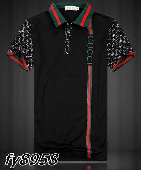 7f1dea26e Gucci POLO shirts men-GG8959F | Buying | Gucci polo shirt, Versace ...