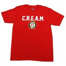 WuTang CREAM Seal Tee Shirt in Red