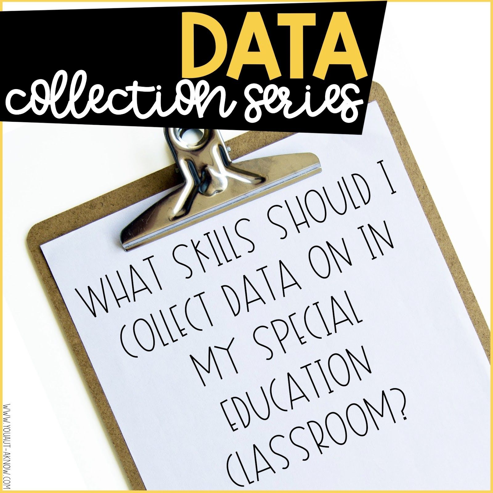Data Collection Series What Should I Take Data On