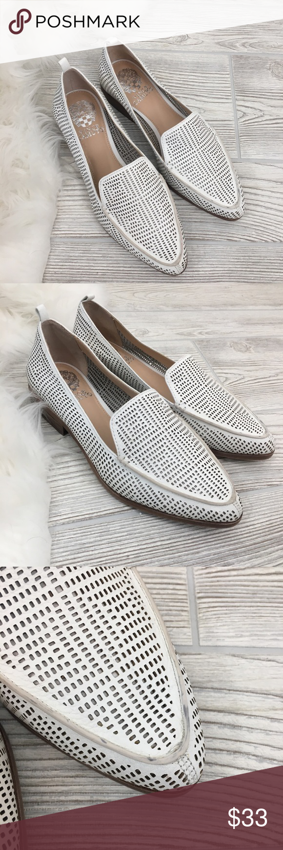 cd69f3662b5 Vince Camuto Kade Cut-Out Loafers Size 7. Vince Camuto Kade Cut-Out ...