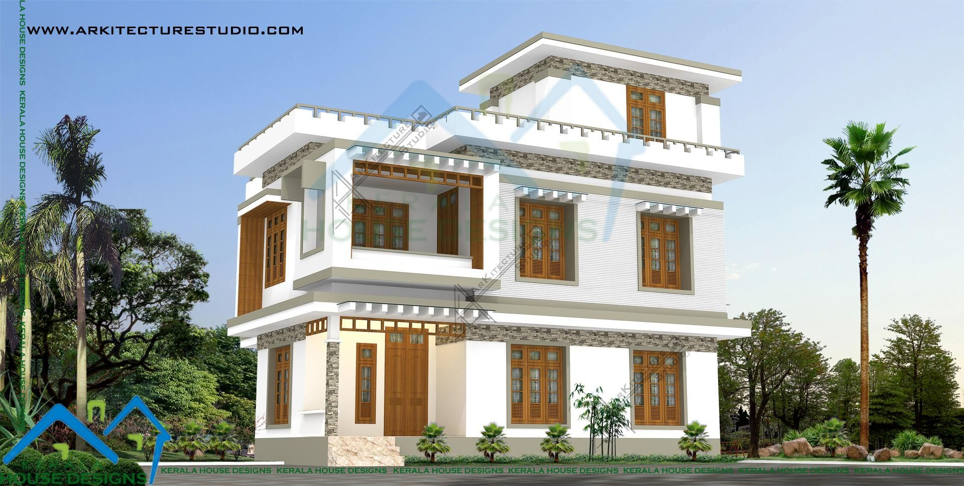 3 Cent Home Design Part - 37: 5bhk In 3 Cents.