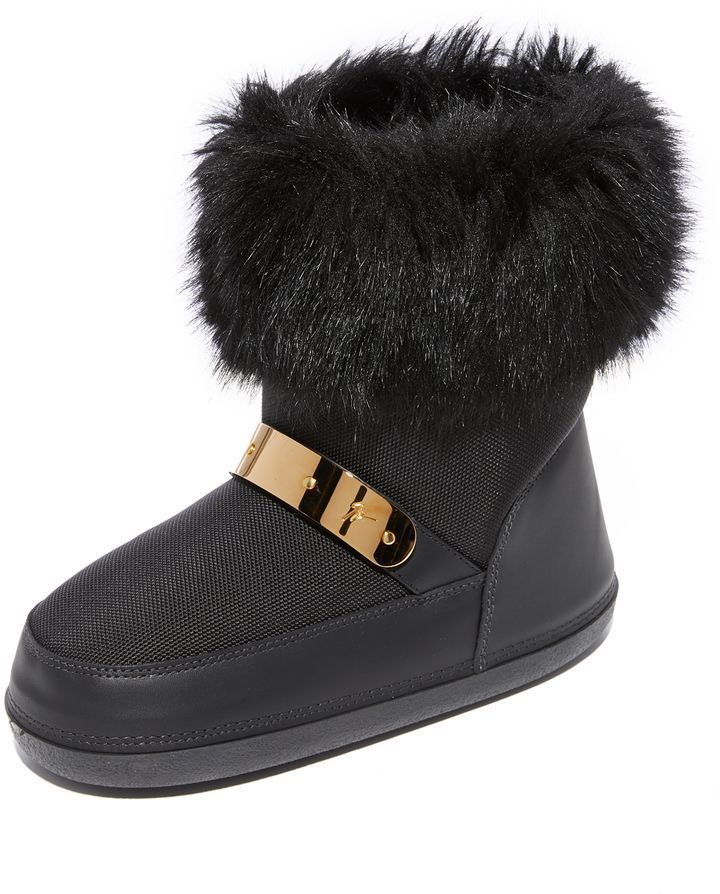 df412d1cdffe8 Snow Boots with Faux Fur   Products   Boots, Giuseppe zanotti boots ...