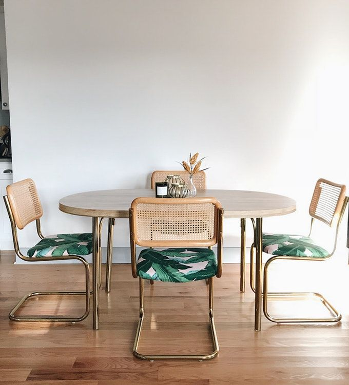 1960s Vintage Cesca Chairs And Table Dining Set With Images