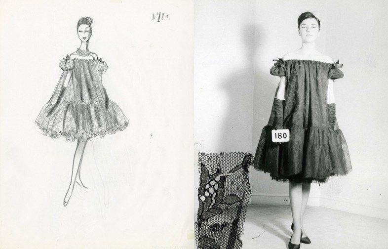 Baby doll, vestido | Cristobal Balenciaga | Pinterest | Moda ...