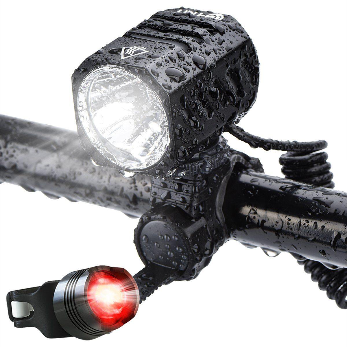 Super Bright Bike Light Usb Rechargeable Terich 1200 Lumens Waterproof Road Mountain Bicycle Headlight And Led Tai Bike Headlight Bike Lights Bike Lights Led