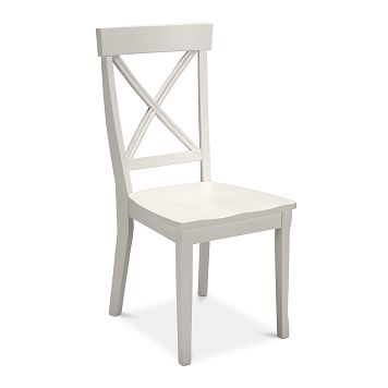 Plantation Cove White Dining Room Side Chair   Value City Furniture $89.99
