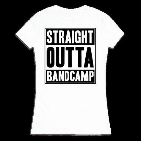 5b83efcc6 Straight Outta Band Camp T-Shirt | LookHUMAN | austin | Marching ...