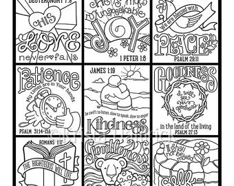 Psalm 23 Coloring Page In Three Sizes 85X11 By KristaHamrick