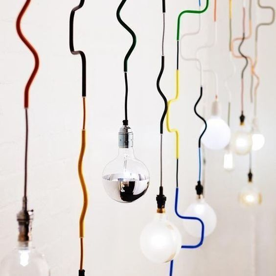 18 Creative Ideas to Use Fabric Wire for DIY Lamps | Creative ...