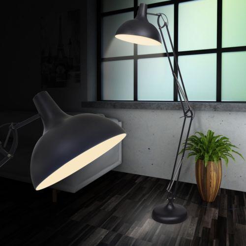 Design LED Steh Leuchte Lampe Standlampe Wohnzimmer Beleuchtung Büro - led leuchten wohnzimmer