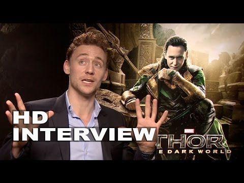 Thor 2: The Dark World: Tom Hiddleston Official Movie Interview