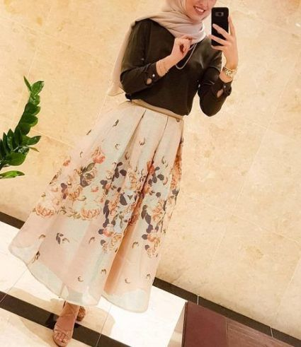 48 Trendy Ideas For Style Hijab Casual Rok