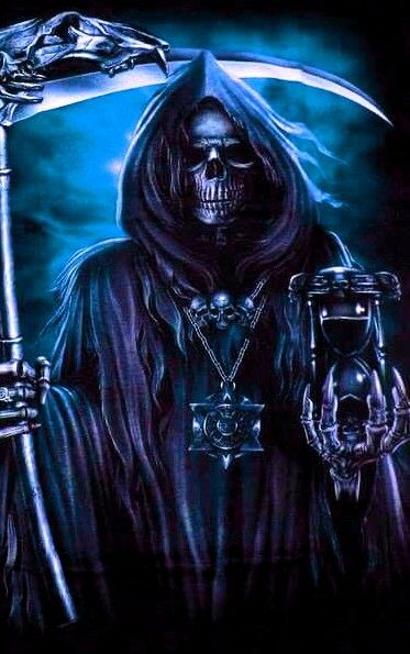 Reaper the grim reaper only kills those that he thinks are evil and