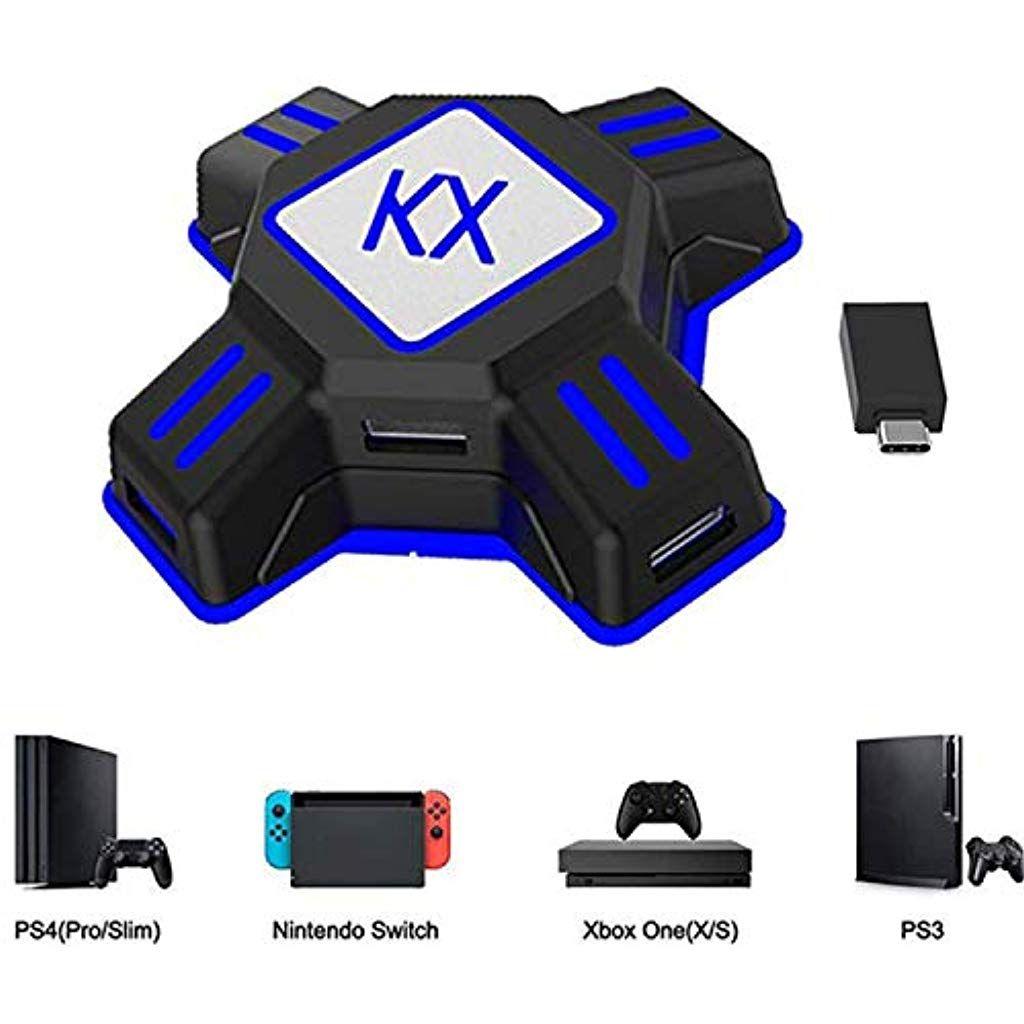 Adapter Maus Und Tastatur Konverter Fur Ps4 Ps3 Xbox One Nintendo Switch Kx Usb Game Controller Converter Keyboard Mouse Game Controller Nintendo Switch Xbox
