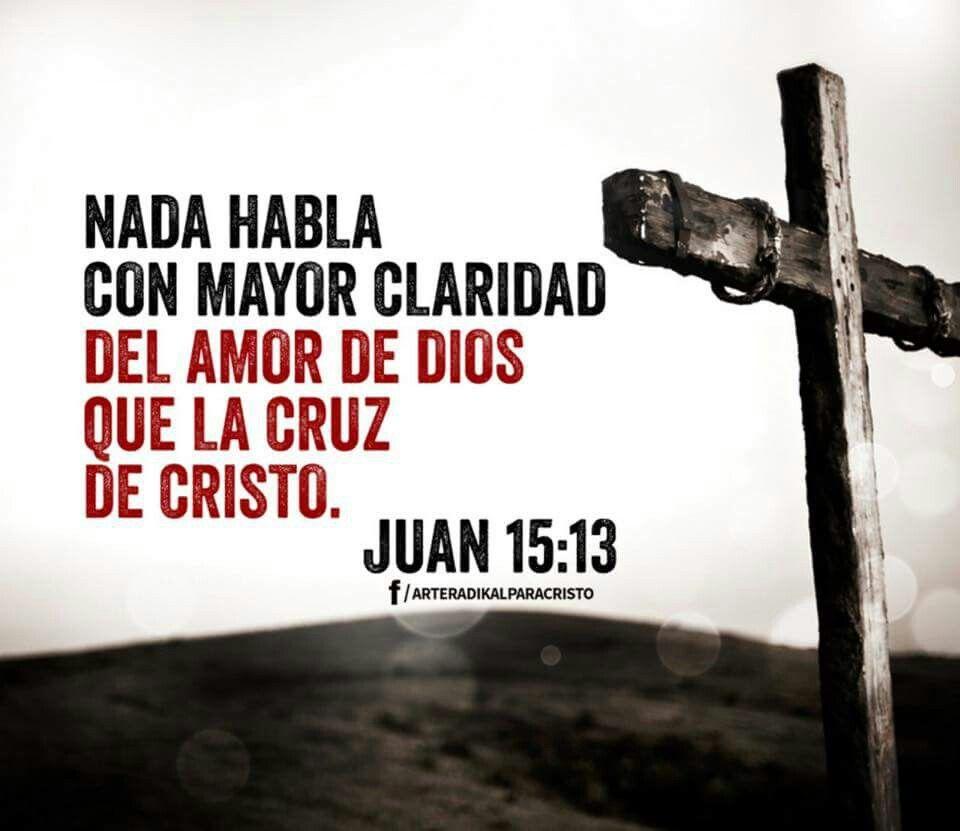 La Cruz De Cristo Habla Del Amor De Dios Cruz De Cristo