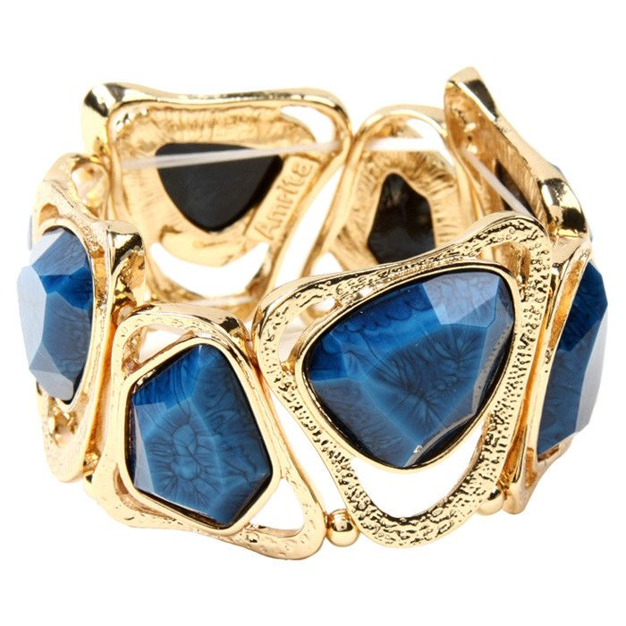 Harper Bracelet in Blue Lapis - Accessories under $40 on Joss & Main $24.99