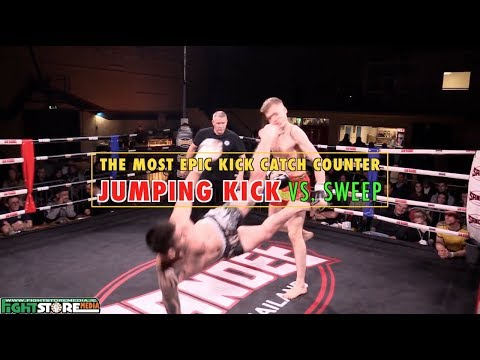 The Most Epic Jumping Kick Counter Youtube 柔術 と 武術