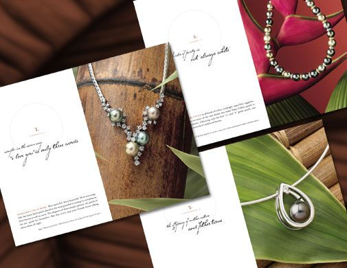 Jewelry Brochure Samples -101Greatbrochures | Jewelry Catalogs